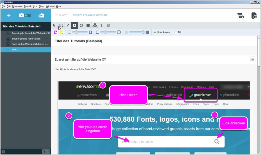Einfache Beschreibungen per PDF erstellen
