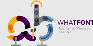 Schrifen auf Webseiten erkennen- mit WhatFont Bookmark
