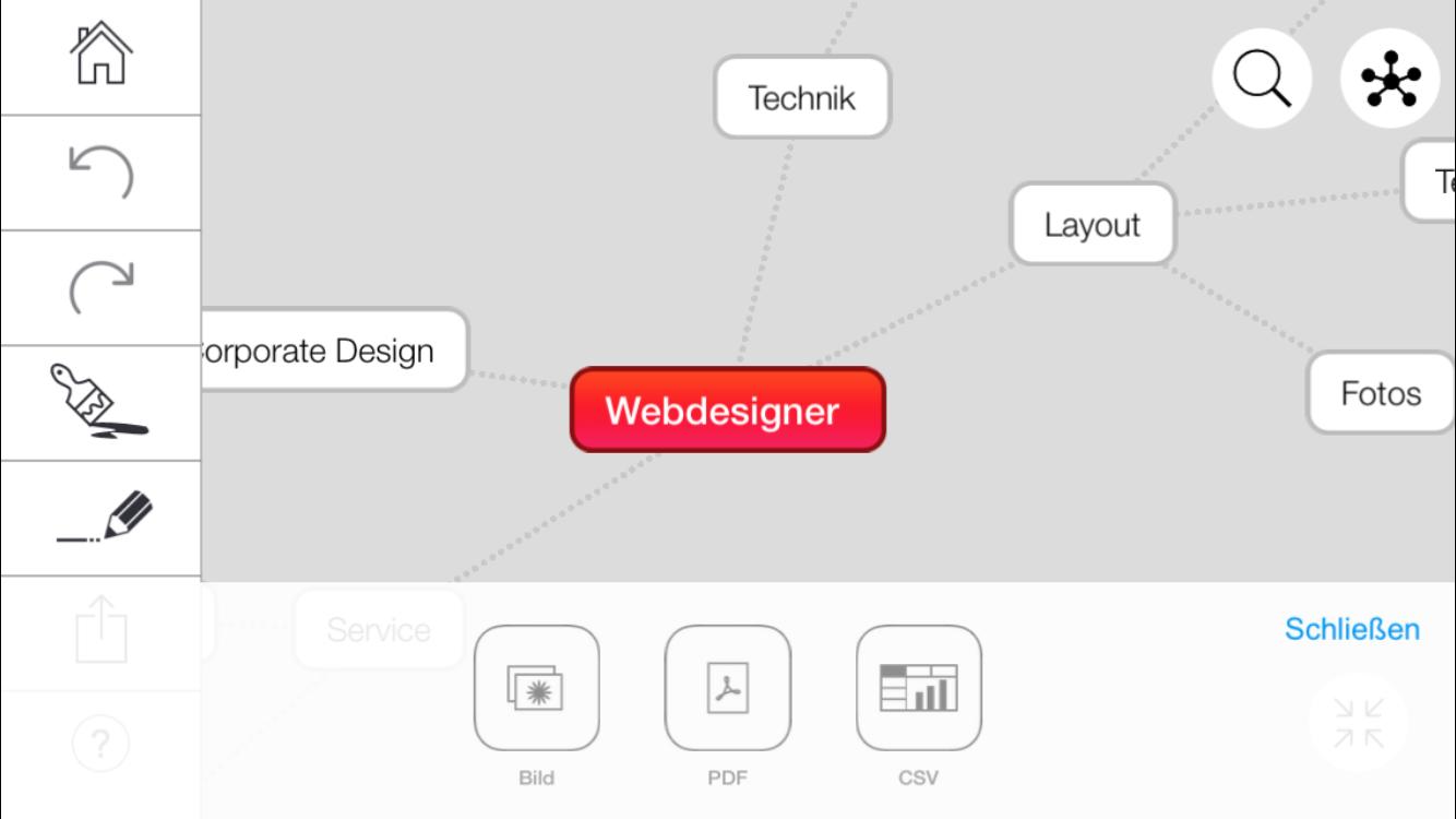 einfache mindmapping app f r ios android und desktop. Black Bedroom Furniture Sets. Home Design Ideas