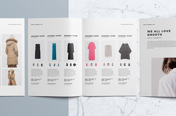 Lookbook Produktpräsentation