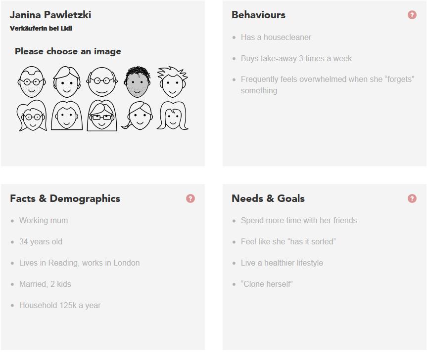 kostenloses Persona Online-Tool